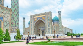 The best hotels of Samarkand