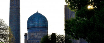 Day trip to the city of Samarkand by bus (group tour)