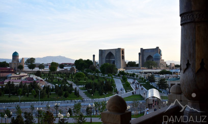 Day trip to the city of Samarkand.