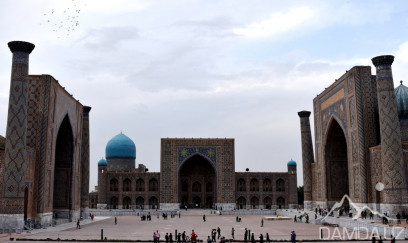 Day tour to Samarkand and to Shahrisabz by train from Tashkent.