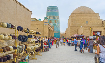 Tour to Khiva by plane - travel to Uzbekistan
